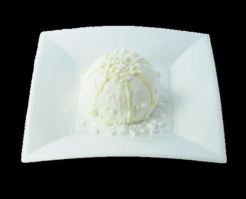 Tartufo (weiß) Eiskremtrüffel mit Cafeeis-Kern